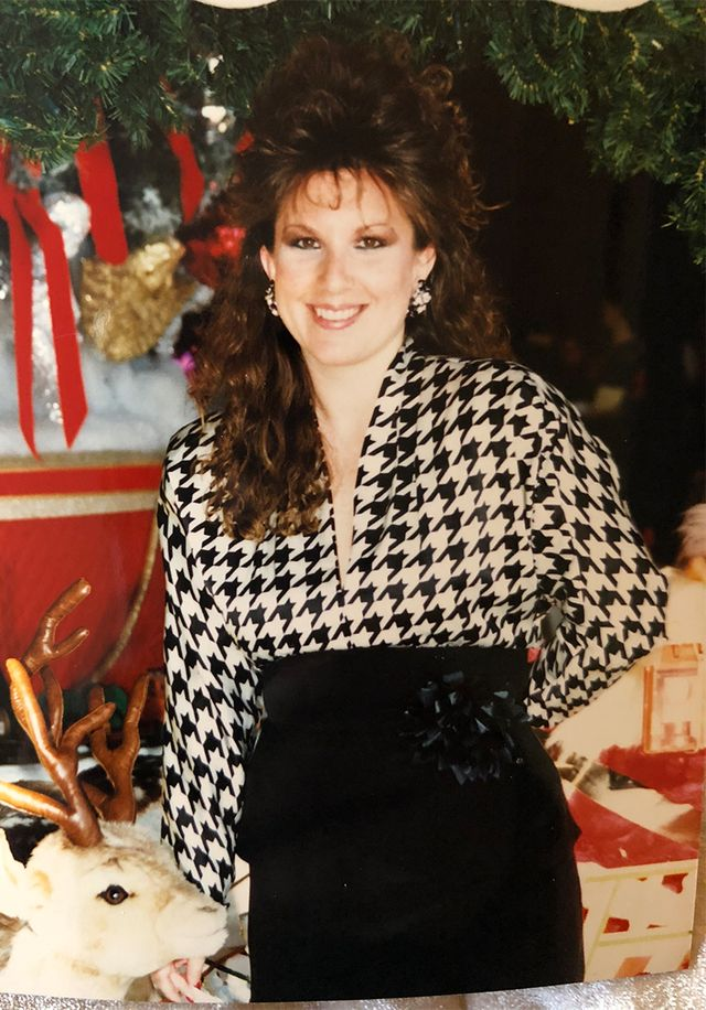 The best 80s fashion moments - houndstooth top