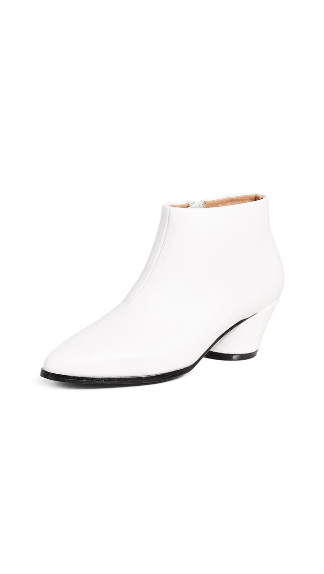 Angular Ankle Boots