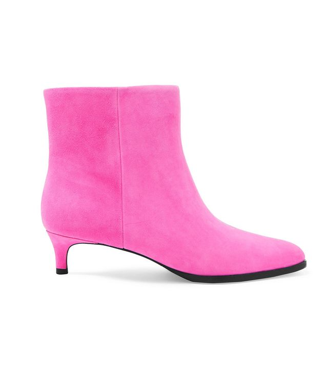 Agatha Suede Ankle Boots