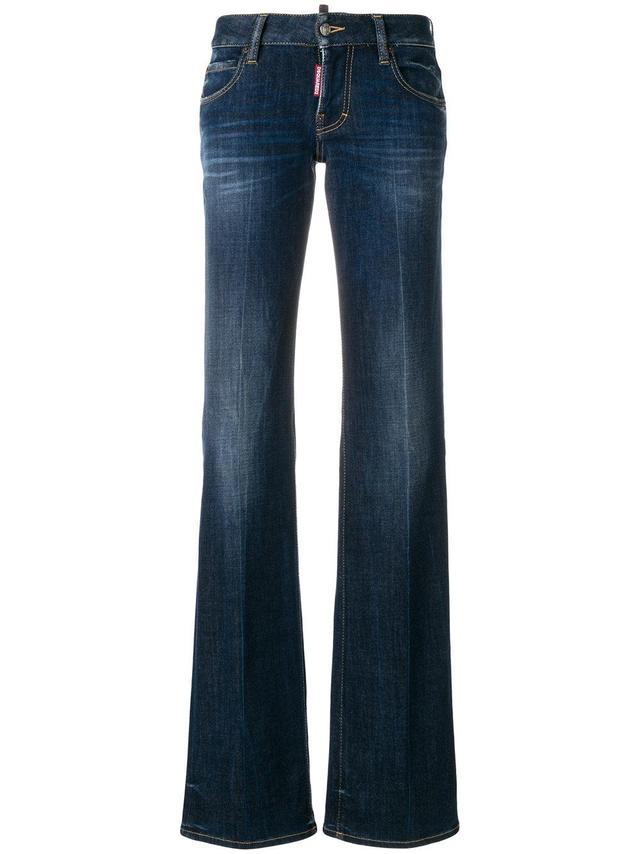 straight leg bootcut jeans