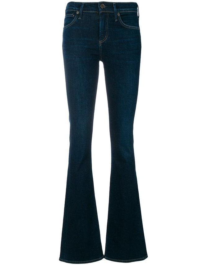 bootcut leg jeans