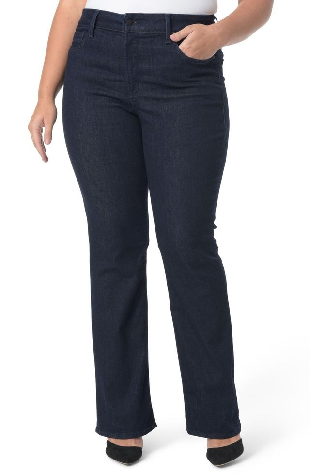 Plus Size Women's Nydj Barbara Stretch Bootcut Jeans