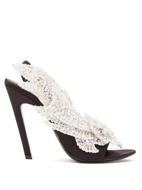 Talon Slash Slingback Sandals