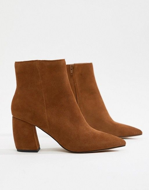 Radius Suede Ankle Boots