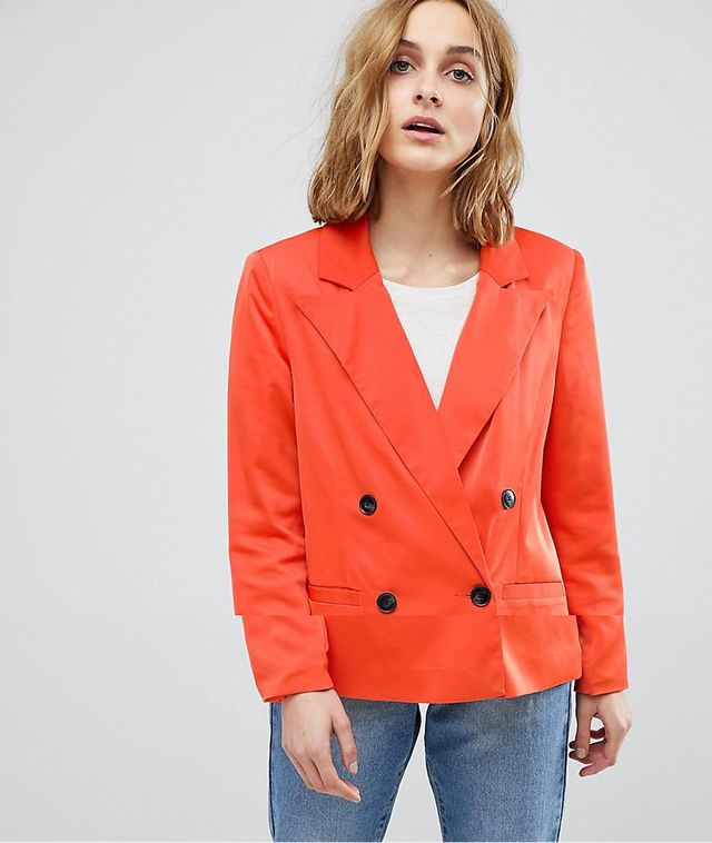 80'S Blazer With Shoulder Pads