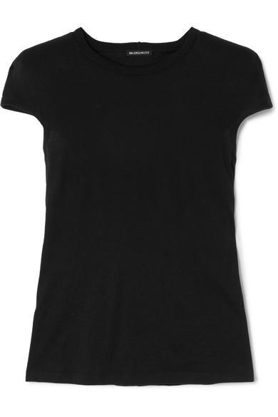 Ann Demeulemeester Cotton-Jersey T-Shirt