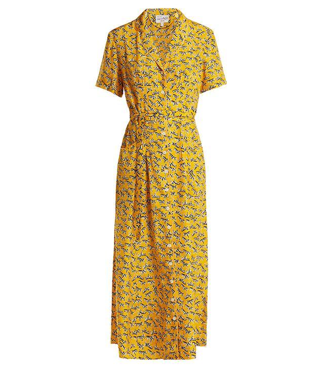 Maria Zebra-Print Dress