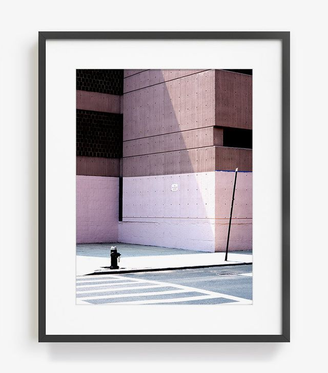 James Needham New York Wall Pink