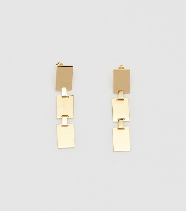 Bagatiba Rectangle Dangle Earrings