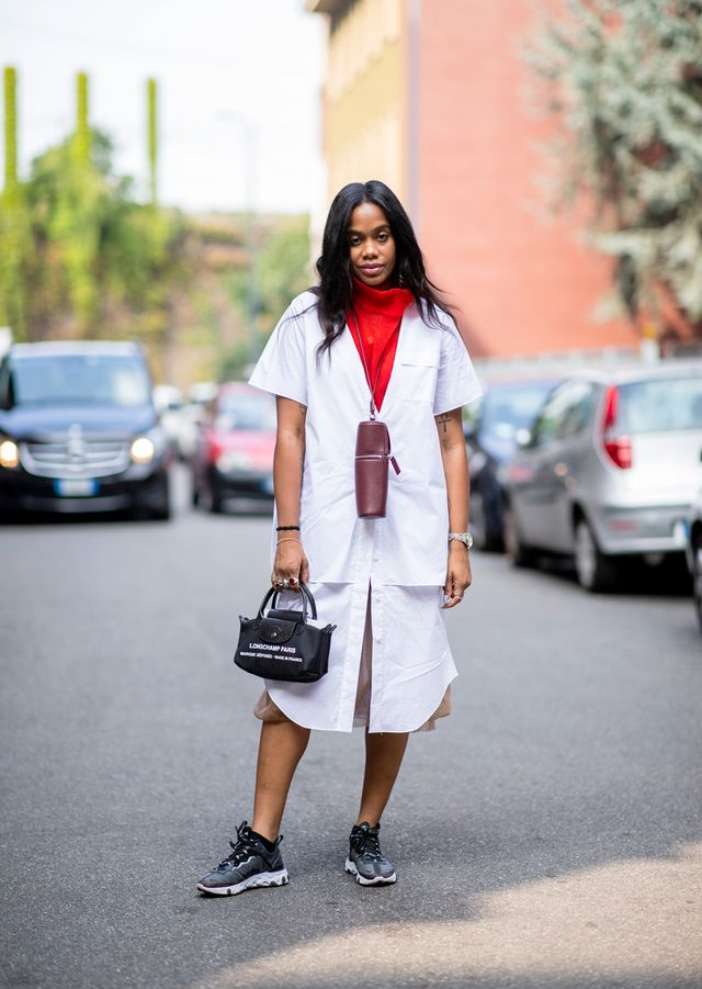 What to wear with black sneakers