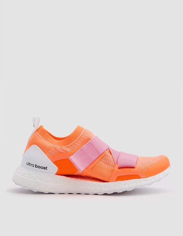 UltraBoost X Double Strap in Glow Orange