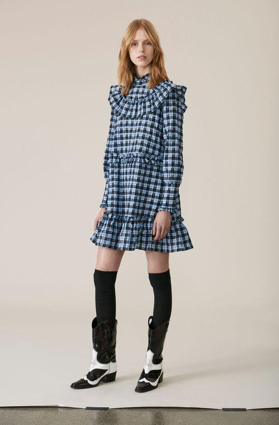 Ganni Charron Mini Dress