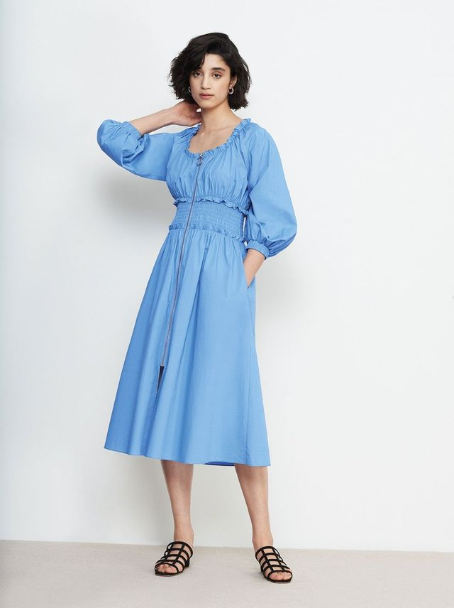 Kitri Athena Smocked Waist Dress