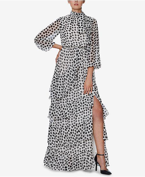 INSPR x Natalie Off Duty Polka Dot Maxi Dress, Created for Macy's