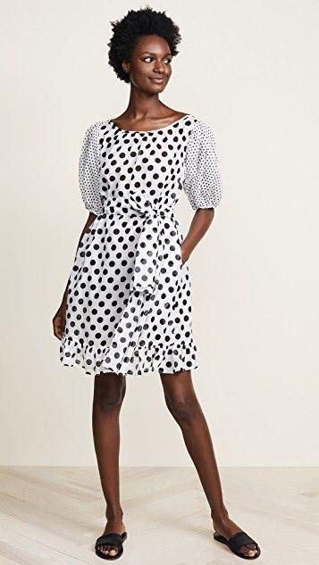 Sheer Mini Prairie Dress
