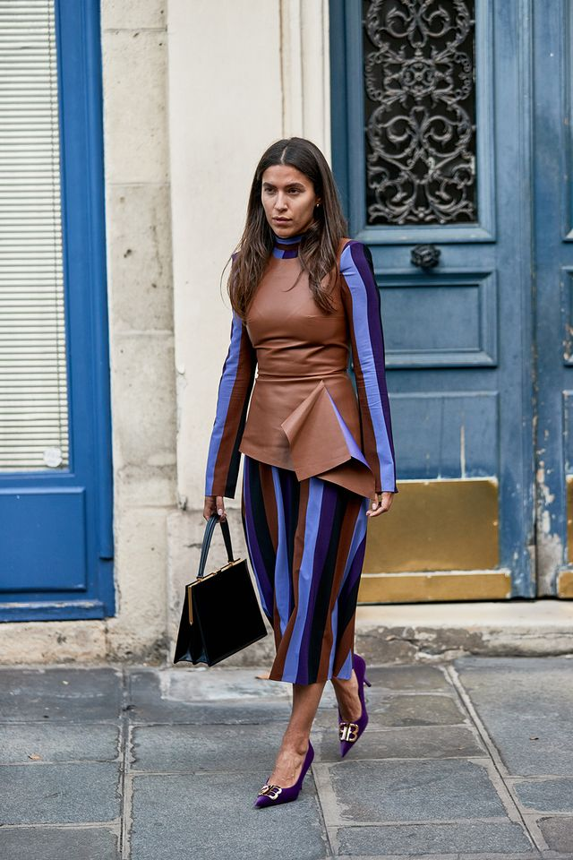best street style at PFW