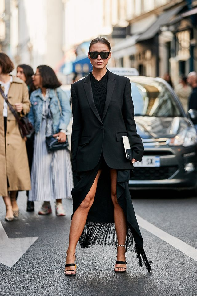 best Paris Fashion Week street style