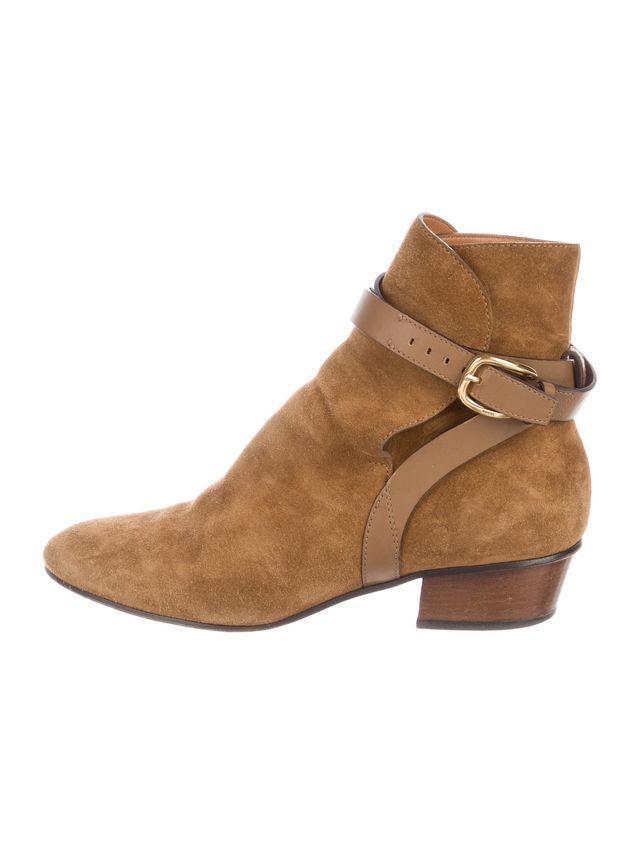Gucci Suede Mid-Calf Boots