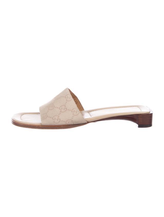 Gucci Guccisima Slide Sandals