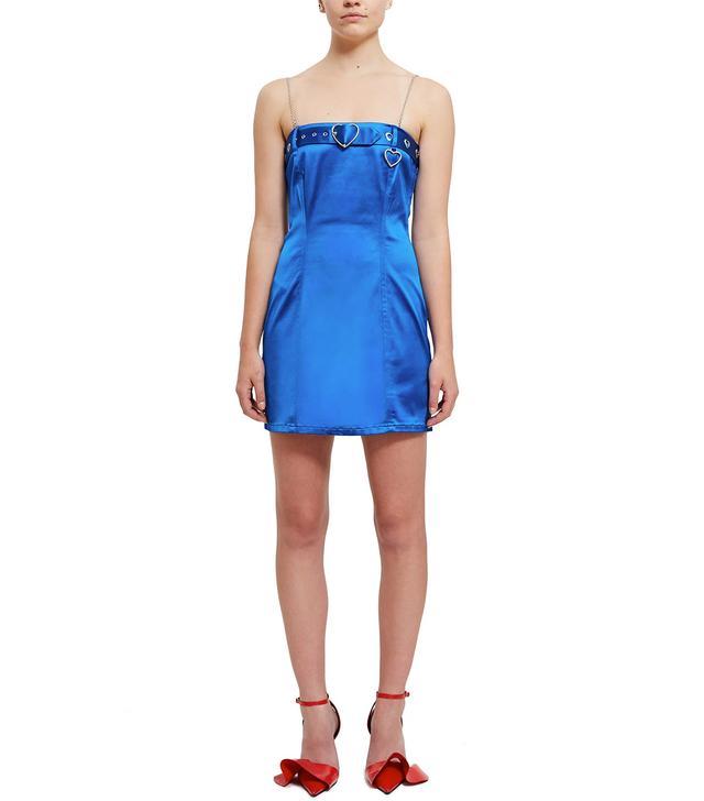 Adam Selman Belt Mini Dress