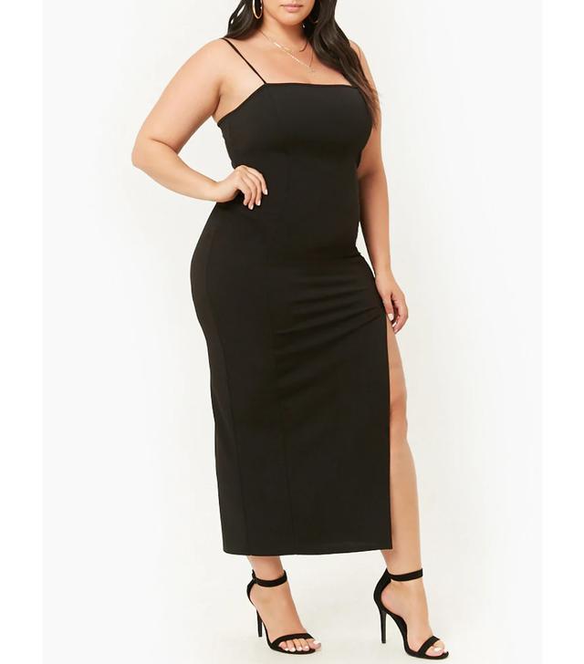 Forever 21 Plus Size Slit Maxi Dress