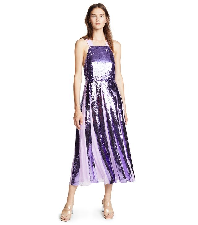 Sequin Overall Dress