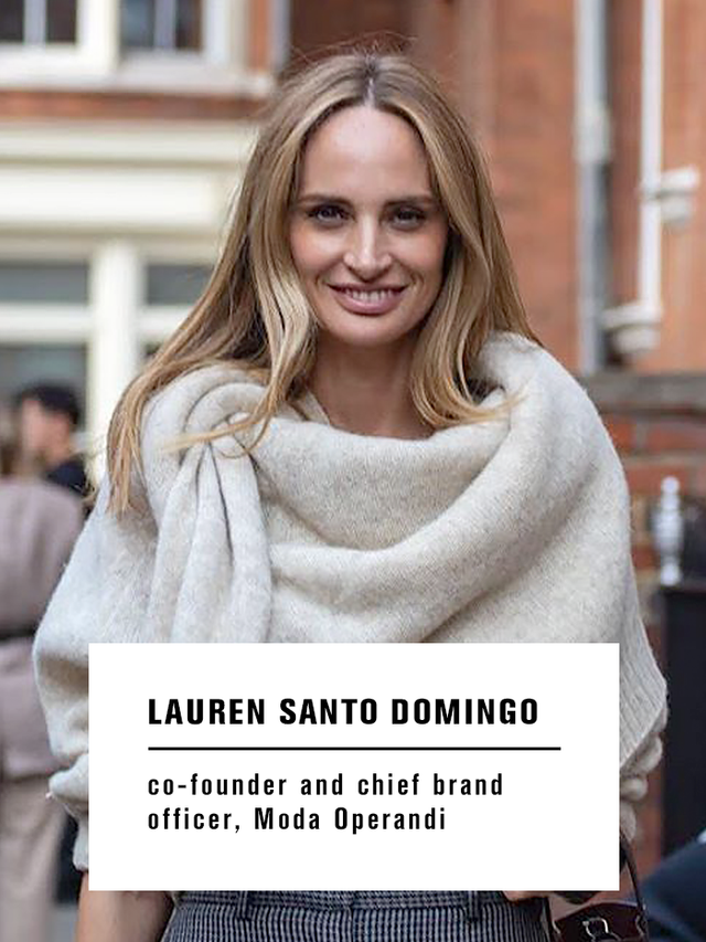 Lauren Santo Domingo Fall Shopping Picks