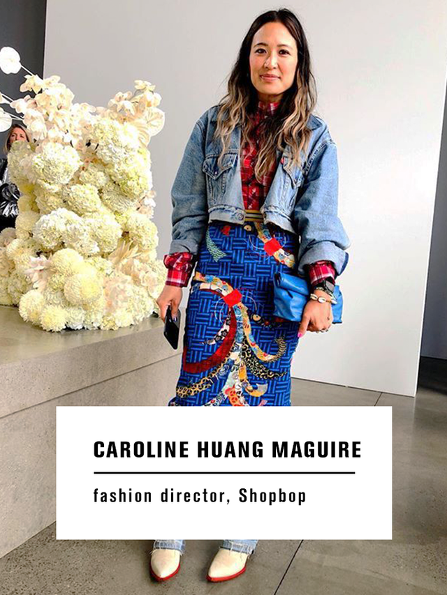 Caroline Huang Maguire Fall Shopping Picks