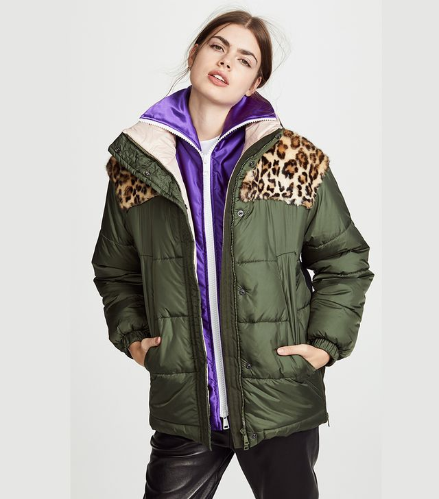 Combo Puffer Jacket