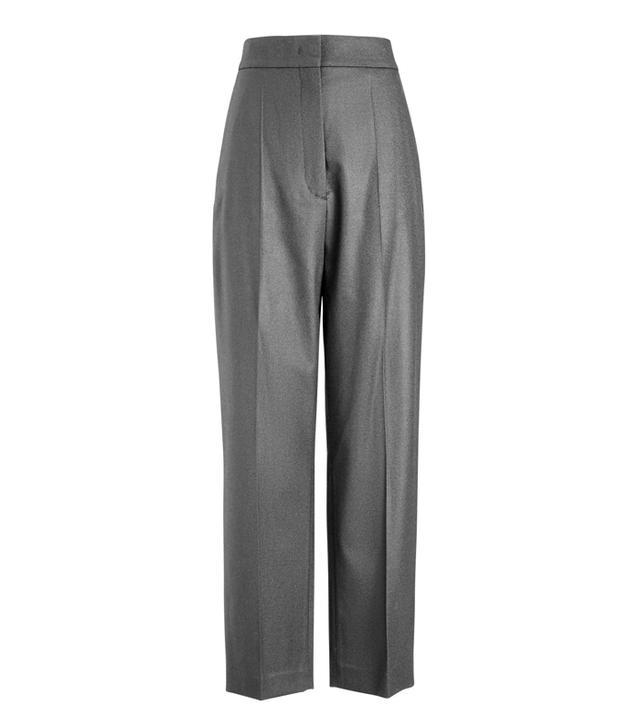 Joseph Haim Flannel Stretch Trousers