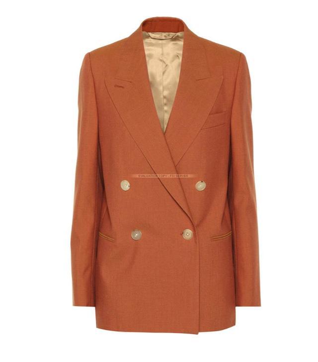 Acne Checked Wool Blazer