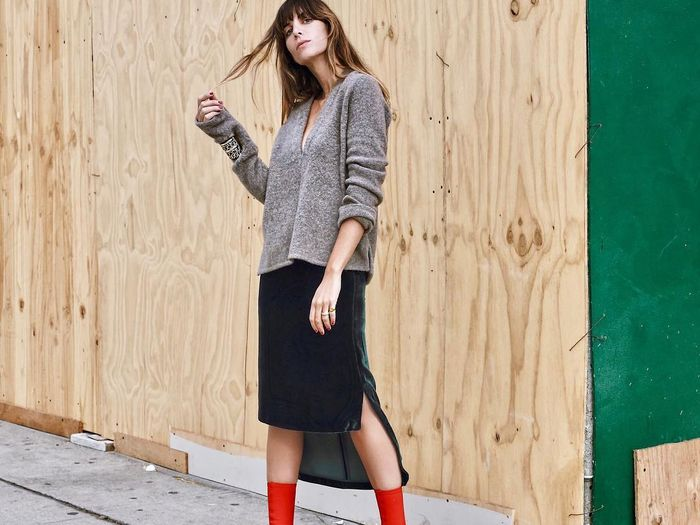 16 Fall Outfits With Red Shoes Who What Wear