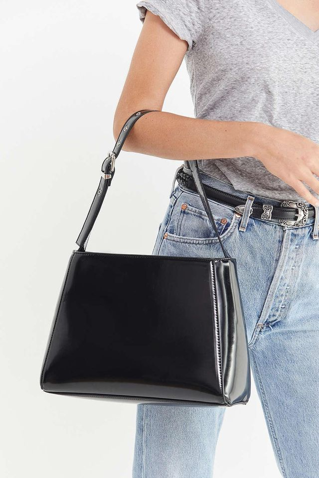 Trapezoid Shoulder Bag