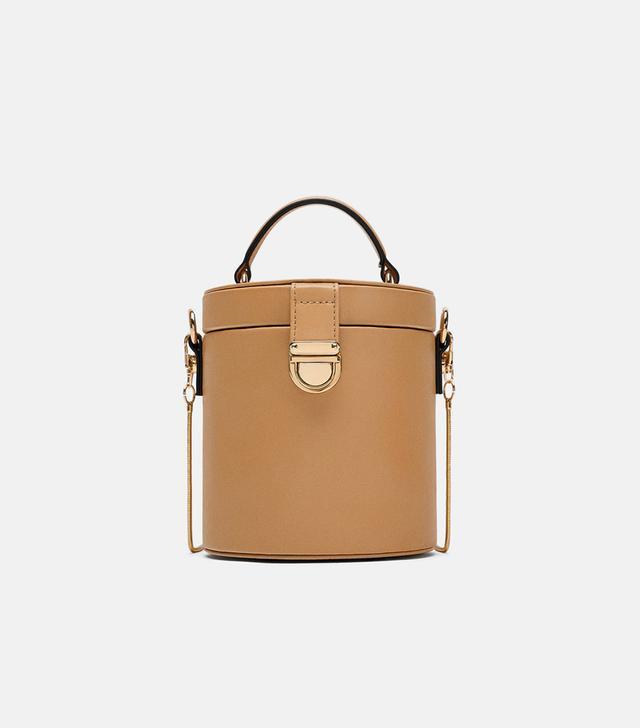 Zara Crossbody Box Bag with Top Handle