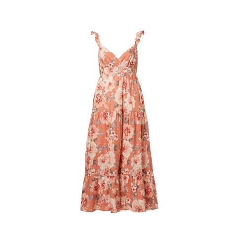 floral Statement Maxi Dress