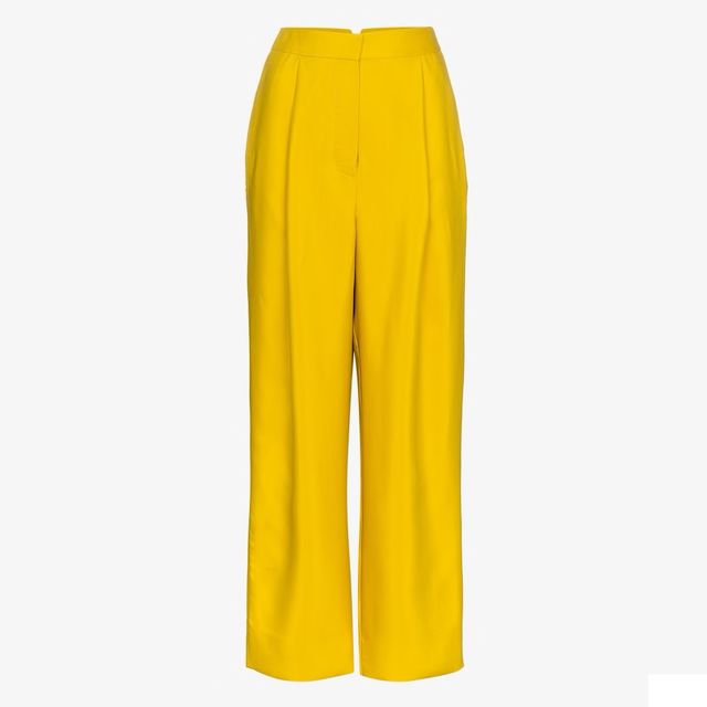Roksanda Randella Wool-Blend Trousers