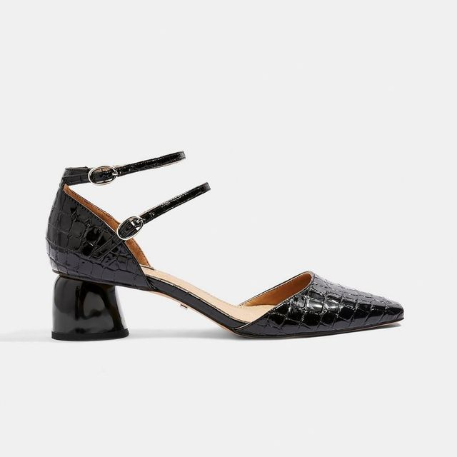 Topshop Two-Part Court Shoes