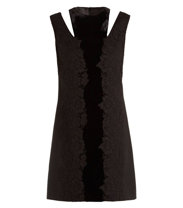 Valentino Cut-Out Lace Dress