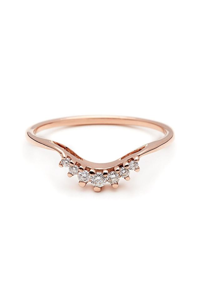Luna Tiara Diamond Ring