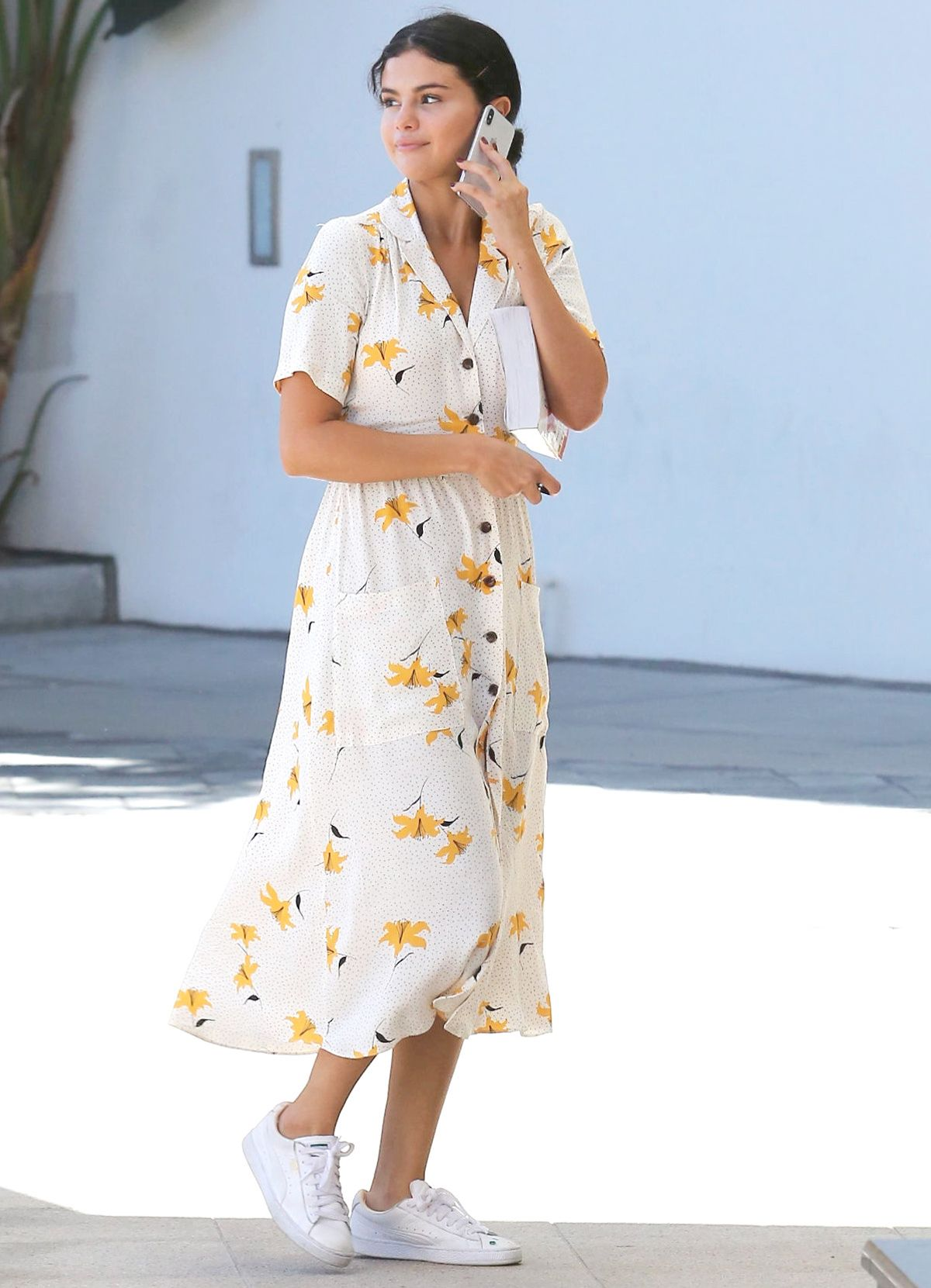 02f64fa3699a Selena Gomez Made This Perfect $69 Dress Sell Out   WhoWhatWear.com    Bloglovin'