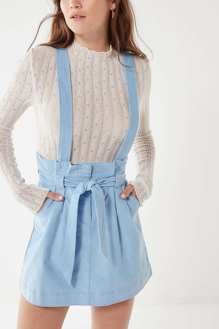 Found The Best Overall Dress Outfits For Fall Who What Wear