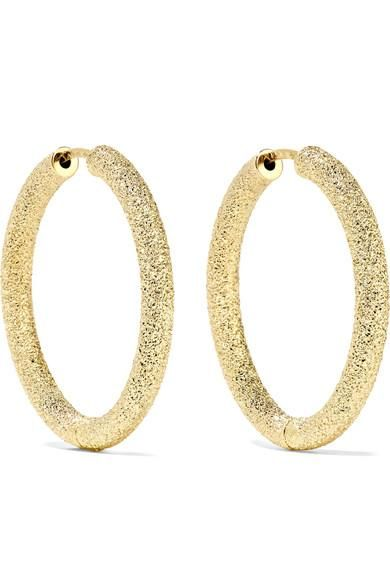 Pinterest Carolina Bucci 18 Karat Gold Hoop Earrings 1400
