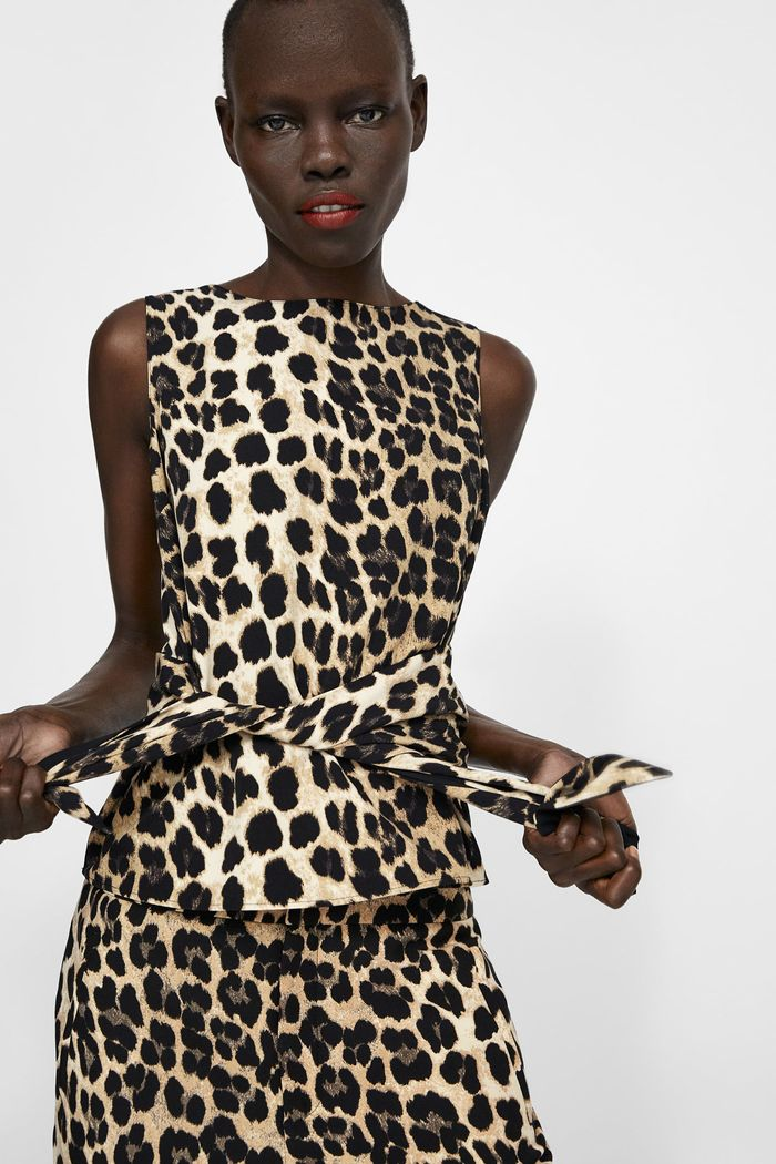 f4edfbf8e9 20 Animal-Print Zara Pieces That Will Sell Out
