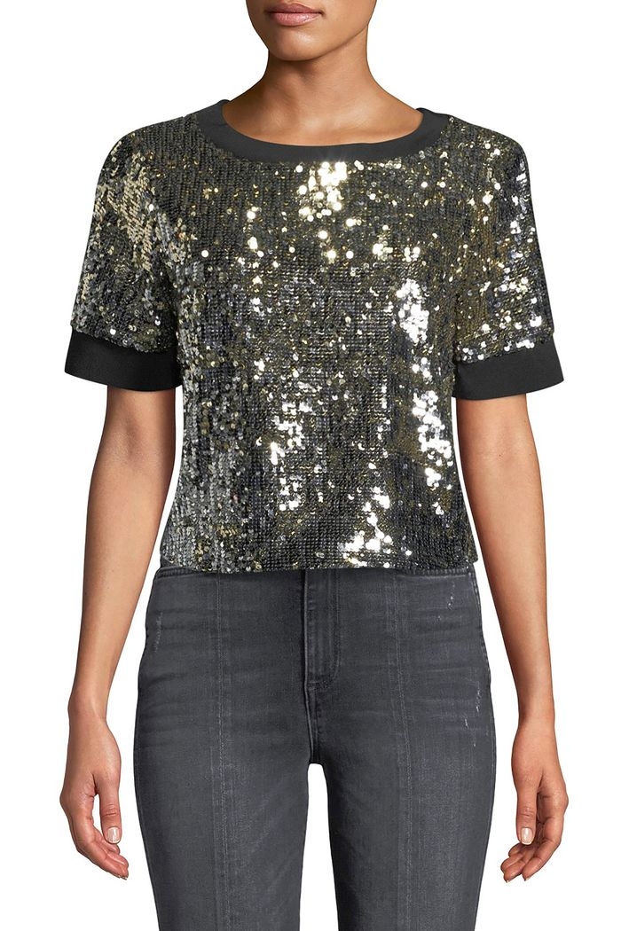 21 Stylish Sequin Holiday Tops Who What Wear