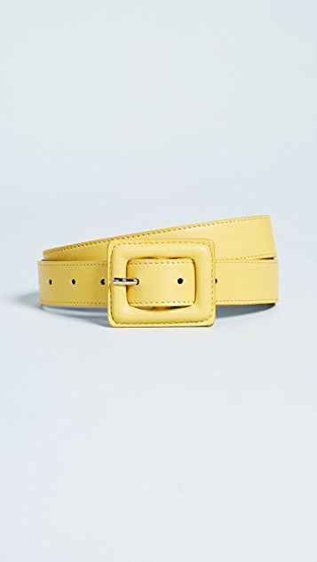 best affordable yellow leather belts