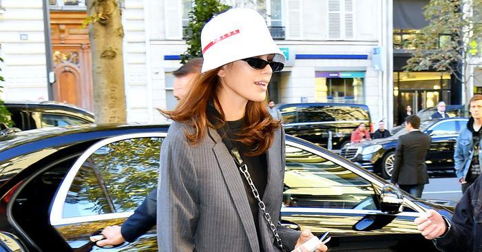 7f22e2e05 Fashion Insiders Made Bucket Hats Cool Again   Who What Wear