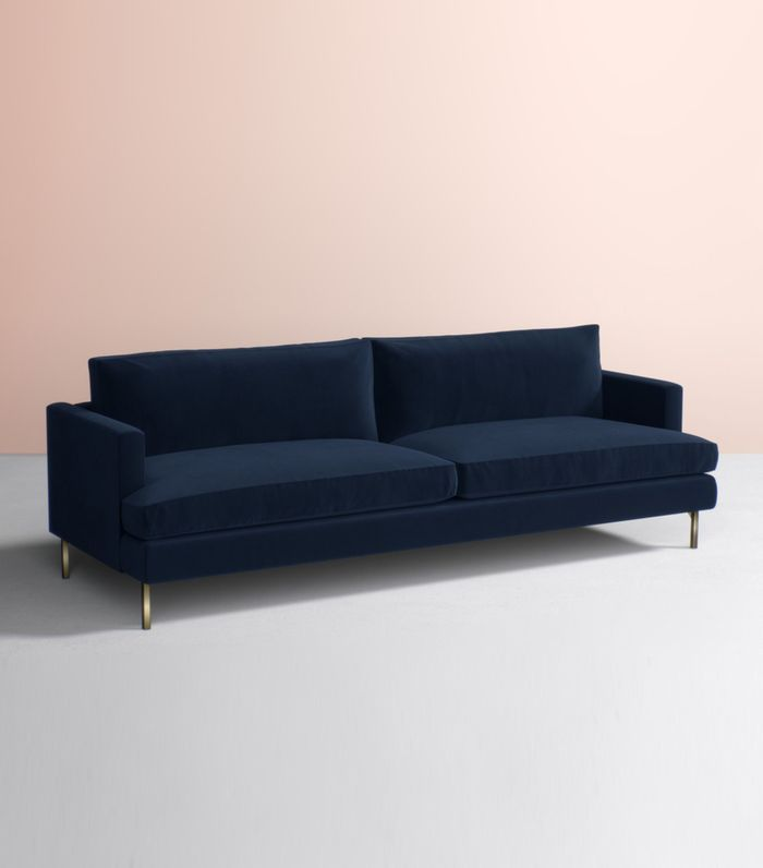 Found The Best 19 Blue Velvet Sofas Our Editors Love