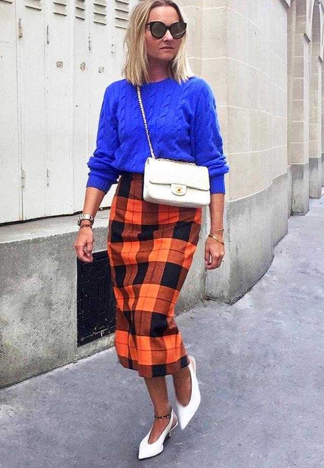 The Zara Check Pencil Skirt That s Trending  04efdce89e53