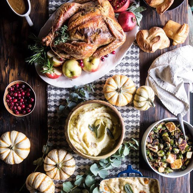 3 Foodies Reveal Their Exact Thanksgiving Meal Plan