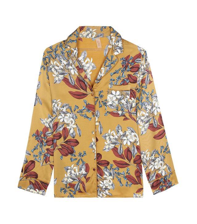 Intimissimi Printed Viscose-Satin Pajama Top